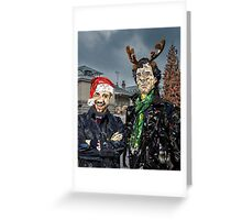 Christmas at Covent Garden Greeting Card