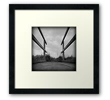 The Low View Framed Print