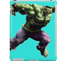 hulk iPad Case/Skin