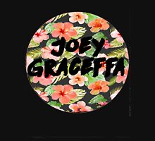 Joey Floral Circle Womens Fitted T-Shirt