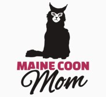 Maine coon cat mom by Designzz