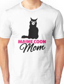 Maine coon cat mom Unisex T-Shirt