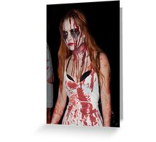 Zombie 57 Greeting Card