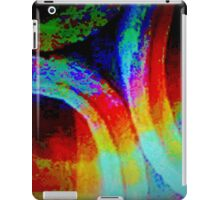 Concrete pipes in a new light iPad Case/Skin