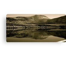 Mirror Of Magic Reservoir Canvas Print