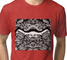 waves Tri-blend T-Shirt
