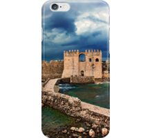 The castle of Methoni - Greece iPhone Case/Skin