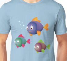 Colorful fishes Unisex T-Shirt