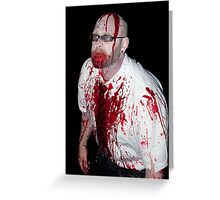 Zombie 56 Greeting Card
