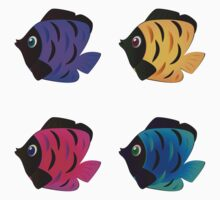 Colorful fishes 2 Kids Clothes