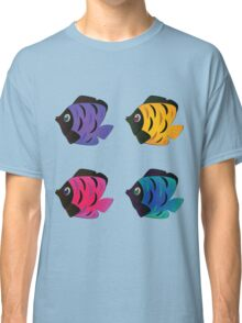 Colorful fishes 2 Classic T-Shirt