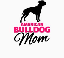 American Bulldog Mom Womens Fitted T-Shirt