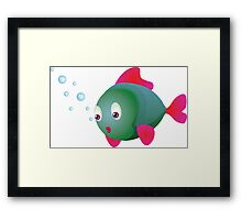 Colorful fish 2 Framed Print