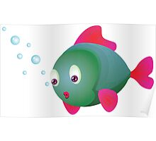 Colorful fish 2 Poster