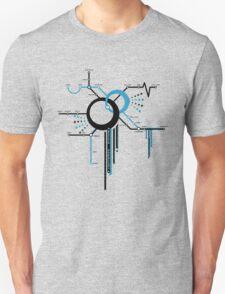 LIGHTSPEED STATION (The Future of Travel) - blue Unisex T-Shirt