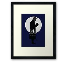 Once Upon a Time - Believe a pirate can be a hero Framed Print