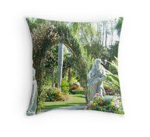 Welcome-Garden Series Throw Pillow