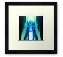 Sky Ice Framed Print
