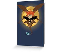 SOULS OF DRAGONS Greeting Card