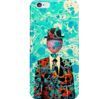 Surrealist Balloon Gentleman Blob by Pepe Psyche iPhone Case/Skin