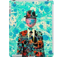 Surrealist Balloon Gentleman Blob by Pepe Psyche iPad Case/Skin