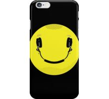 Smiley Music iPhone Case/Skin