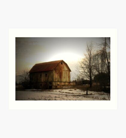 Quiet Barn Art Print