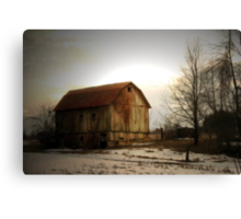 Quiet Barn Canvas Print