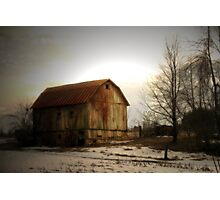 Quiet Barn Photographic Print