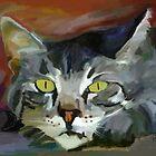 Lazy Day Cat by Patti Siehien