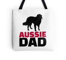 Aussie Australian shepherd Dad Tote Bag