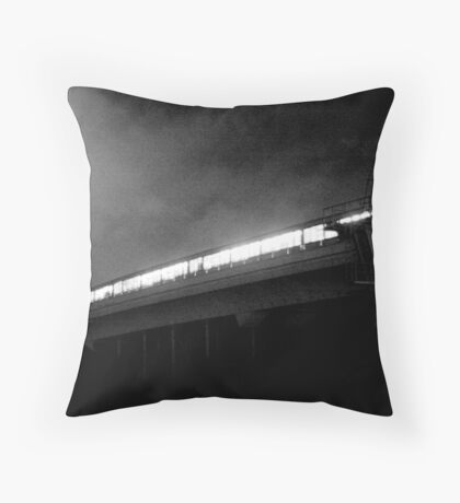 the nights are so cold Throw Pillow