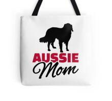 Aussie Australian shepherd Mom Tote Bag