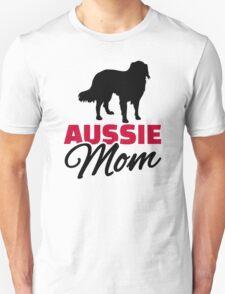 Aussie Australian shepherd Mom T-Shirt