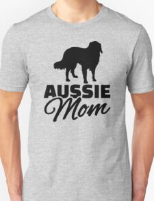 Aussie Australian shepherd Mom Unisex T-Shirt