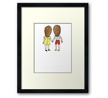 small potatoes Framed Print