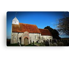 St Andrews Church FORD Canvas Print