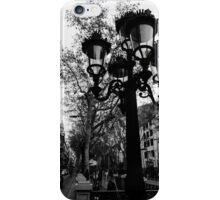 Barcelona - La Rambla iPhone Case/Skin