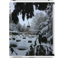 St Helen's Church in Snow iPad Case/Skin