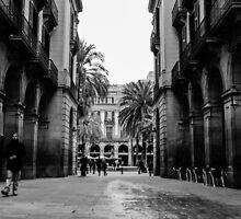 Barcelona - Urban Scene by Andrea Mazzocchetti
