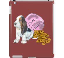 Baet hound spilled the cookies iPad Case/Skin