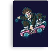 DR. MCFLY Canvas Print