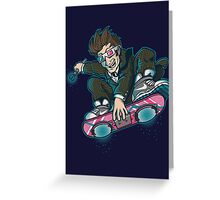 DR. MCFLY Greeting Card