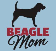 Beagle Mom One Piece - Short Sleeve