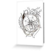 WindRose Greeting Card