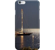 Full Moon @ Skiathos Island iPhone Case/Skin