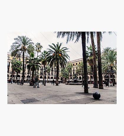 Barcelona - Urban Scene Photographic Print