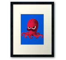 "Bubble Heroes - Boris the Octopus ""Solo"" Edition Framed Print"