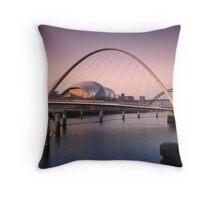 Millennium Bridge Throw Pillow