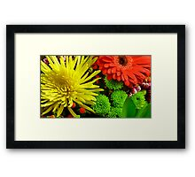 Flowers Are Diamonds To Someone Framed Print